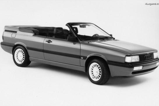 Audi GT Cabrio de 1986 – Une étude américaine de cabriolet sur base d'Audi Coupé GT faite par ASC