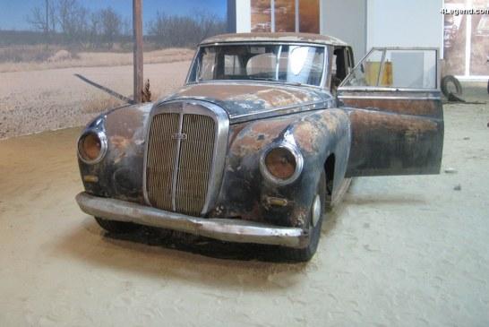 Histoire de la dernière Horch découverte au Texas et construite en 1953 sur la base d'une Horch 830 BL