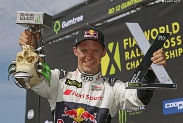 WRX – Mattias Ekström est vice-champion 2017 avec son Audi S1 EKS RX quattro