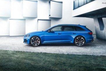Lancement commercial de la nouvelle Audi RS 4 Avant