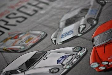 Bande dessinée: Les Grandes Victoires Porsche 1952-1968.