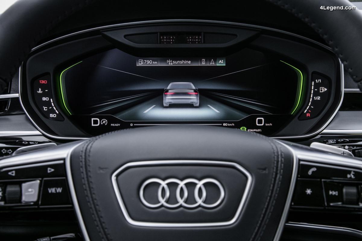 Audi et la conduite autonome - Présentation des 5 niveaux