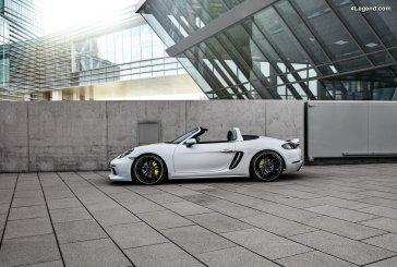 Nouvelles préparations Techart pour les Porsche 718 Cayman et 718 Boxster