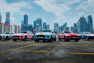 Legends Reborns – Cinq Porsche Macan aux designs uniques en hommage aux voitures de course Porsche du passé