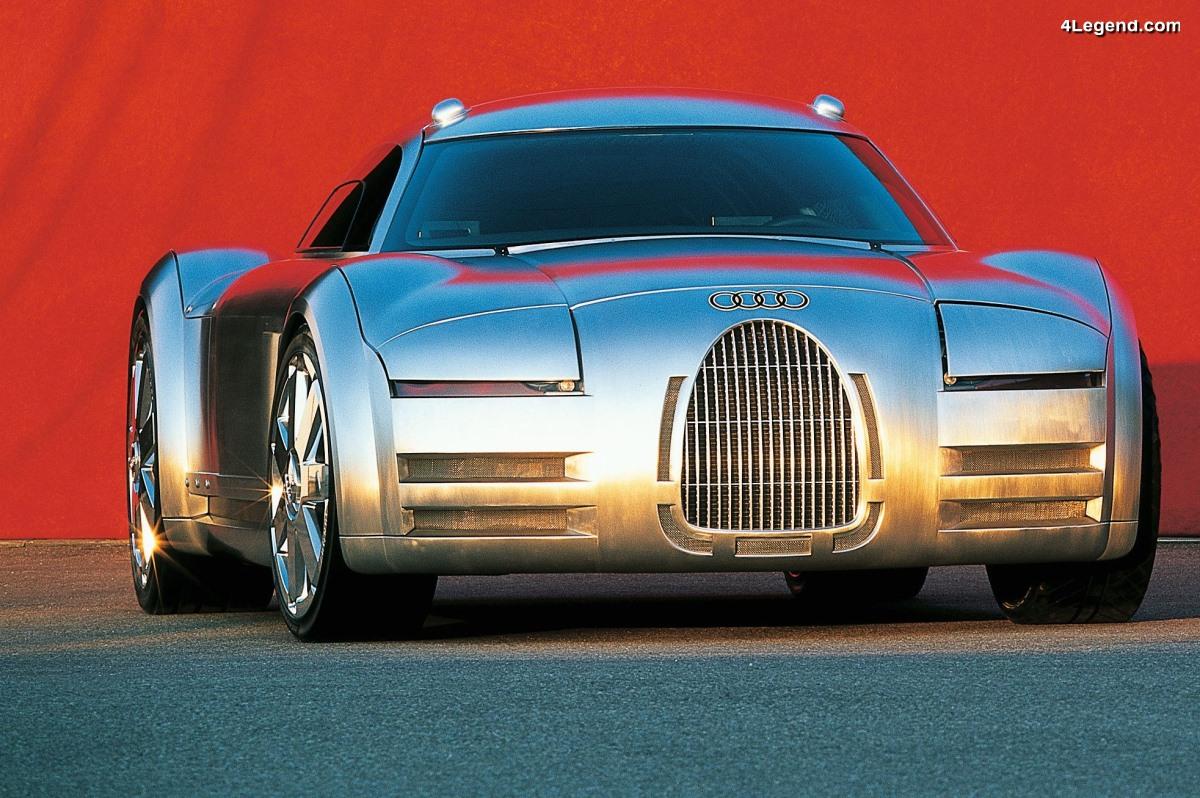 Audi Rosemeyer concept de 2000 - Un hommage au passé sportif d'Auto Union