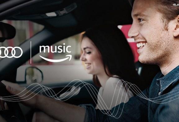 Audi USA intègre des services d'infodivertissement avec Amazon Music