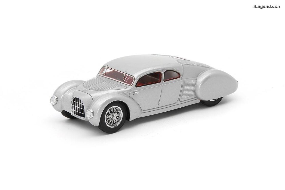 Auto Union Type 52 de 1934 - Une supercar pensée par Ferdinand Porsche et dessinée par Erwin Komenda