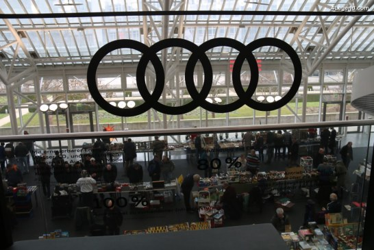 Bourse de miniatures Audi 2017 à l'Audi Forum Ingolstadt