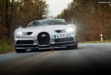La Bugatti Chiron élue hypercar de l'année 2017 par le magazine britannique evo