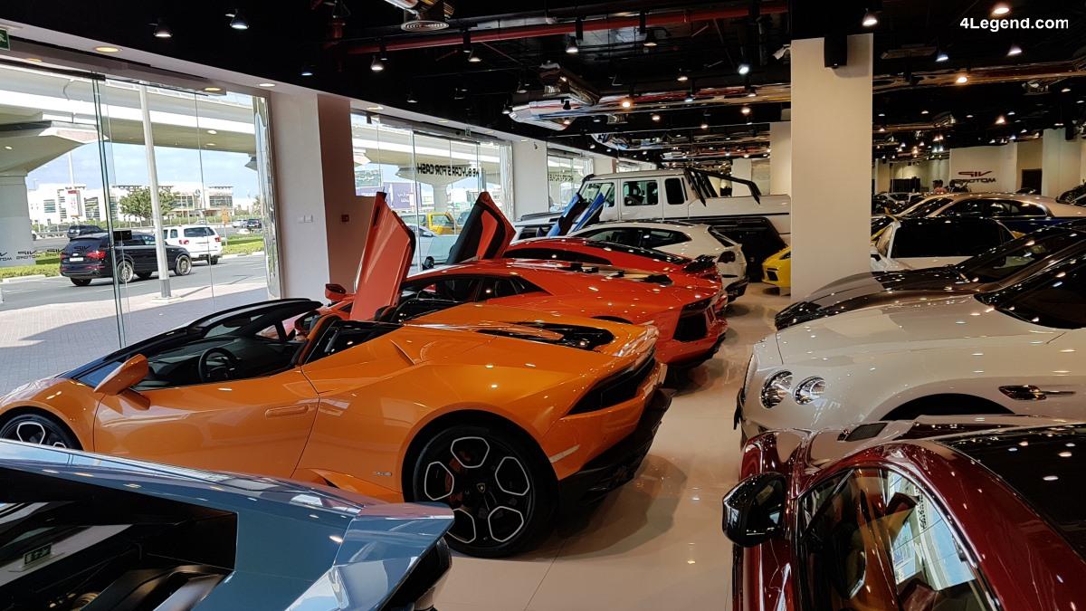 VIP Motors - Une concession hallucinante de voitures de luxe et de supercars à Dubaï