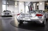 """""""Glanzstücke – Der Glanz der Technik"""" – Exposition spéciale à l'Audi museum mobile sur les Audi en aluminium"""