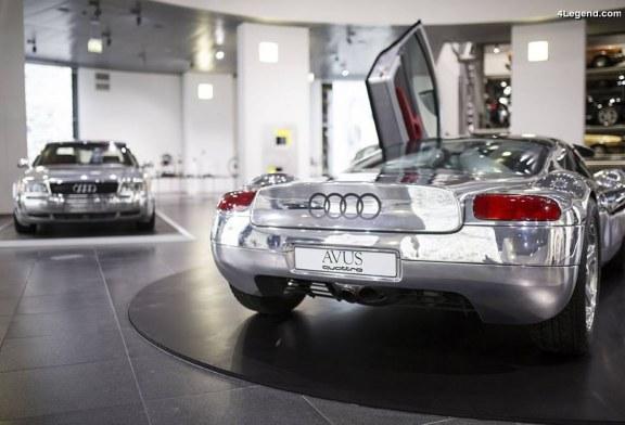 «Glanzstücke – Der Glanz der Technik» – Exposition spéciale à l'Audi museum mobile sur les Audi en aluminium