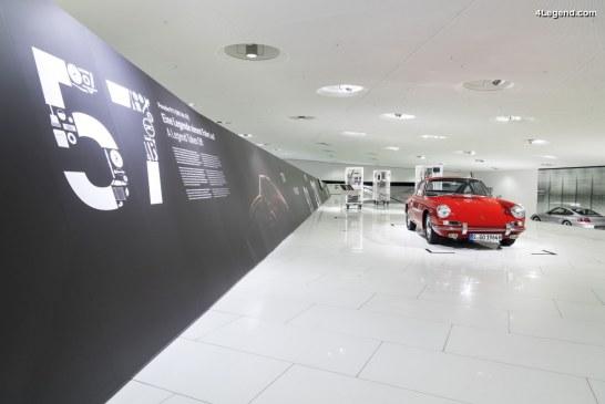 Exposition «911 (901 N°57) – A legend takes off» au Porsche Museum