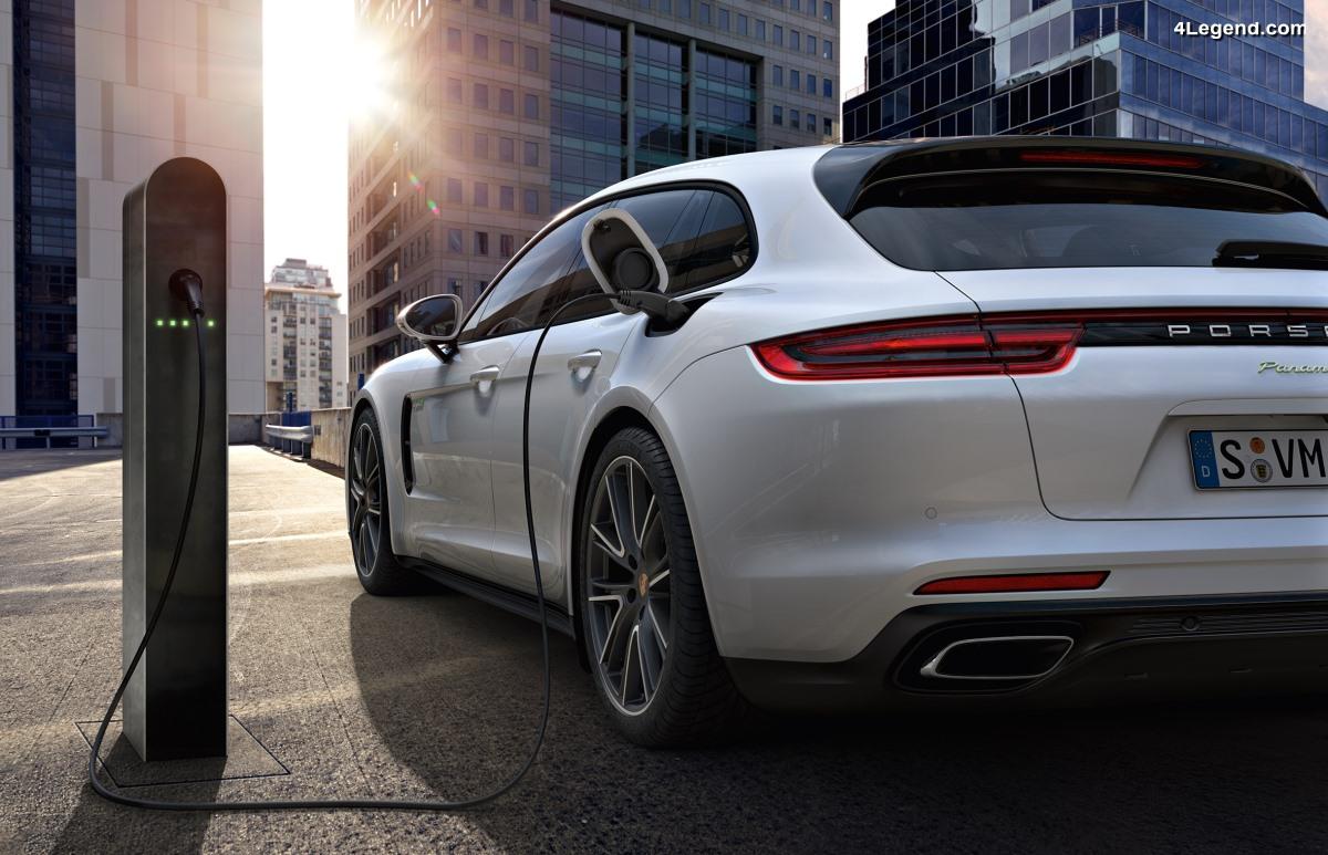 Forte demande pour la Porsche Panamera avec entraînement hybride - Futurs modèles électriques