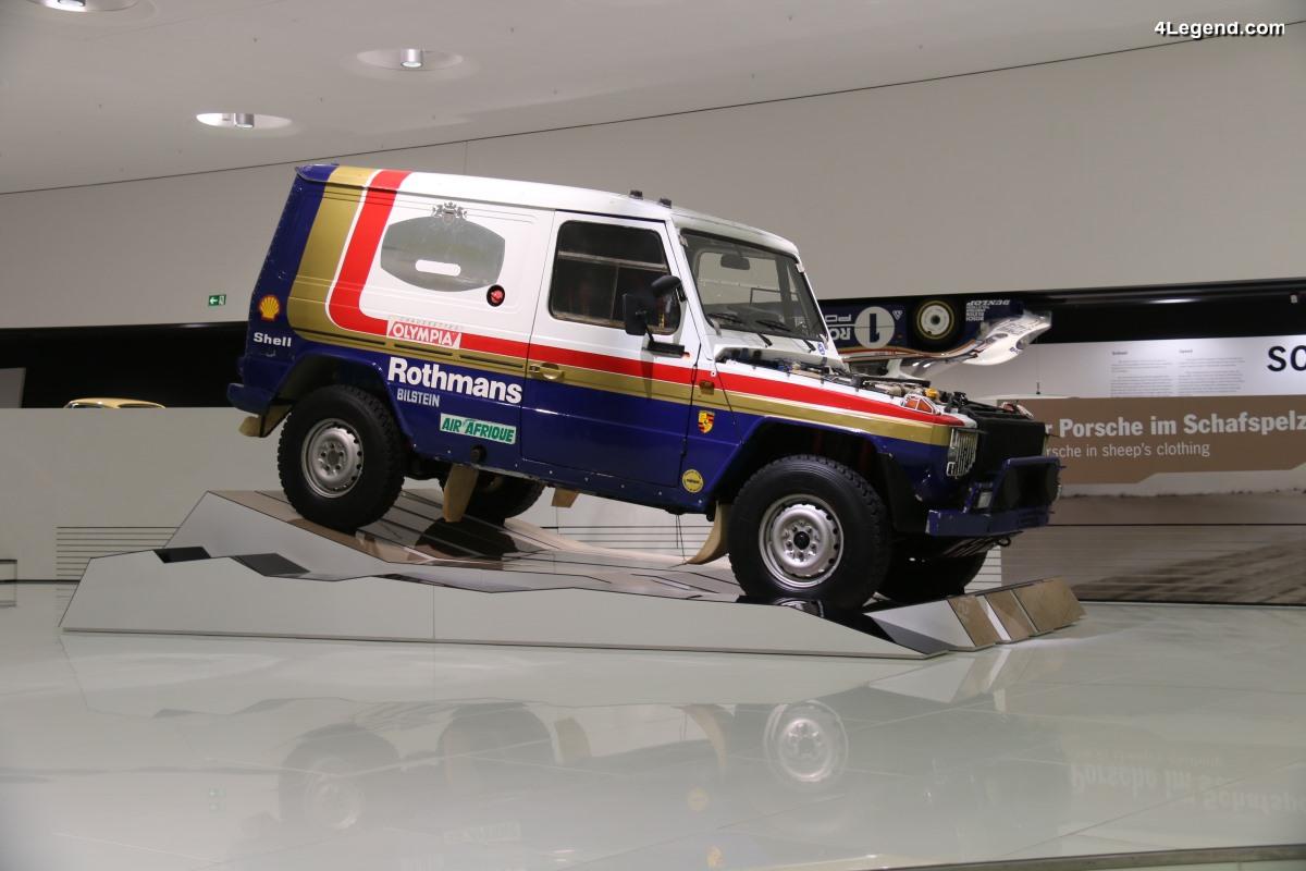 Mercedes-Benz 280 G Porsche V8 de 1985 - Un véhicule d'assistance doté du moteur V8 de la 928