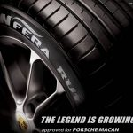 Le pneu Nexen N'FERA RU1 en première monte sur le Porsche Macan
