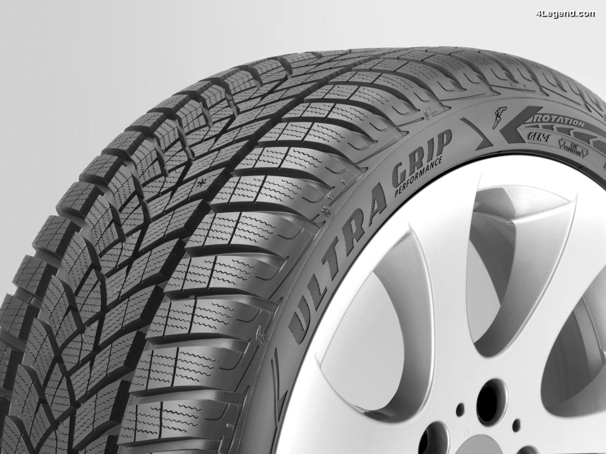 Des pneus Goodyear en première monte sur la nouvelle Audi A8