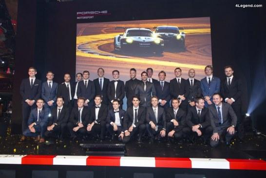 Porsche va engager 4 voitures aux 24 Heures du Mans 2018 – Présentation du programme GT 2018