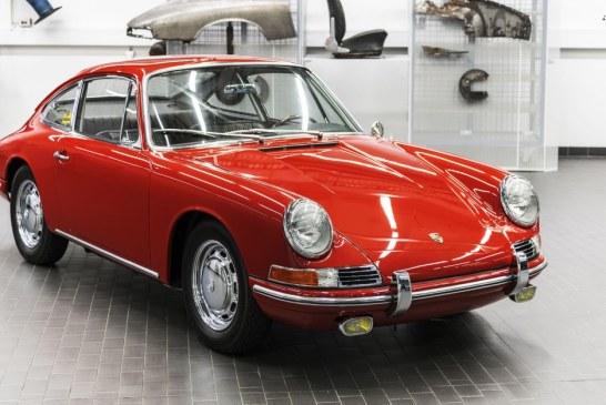 Numéro 57 – La Porsche 911 Type 901 de 1964 châssis 300 057 entièrement restaurée