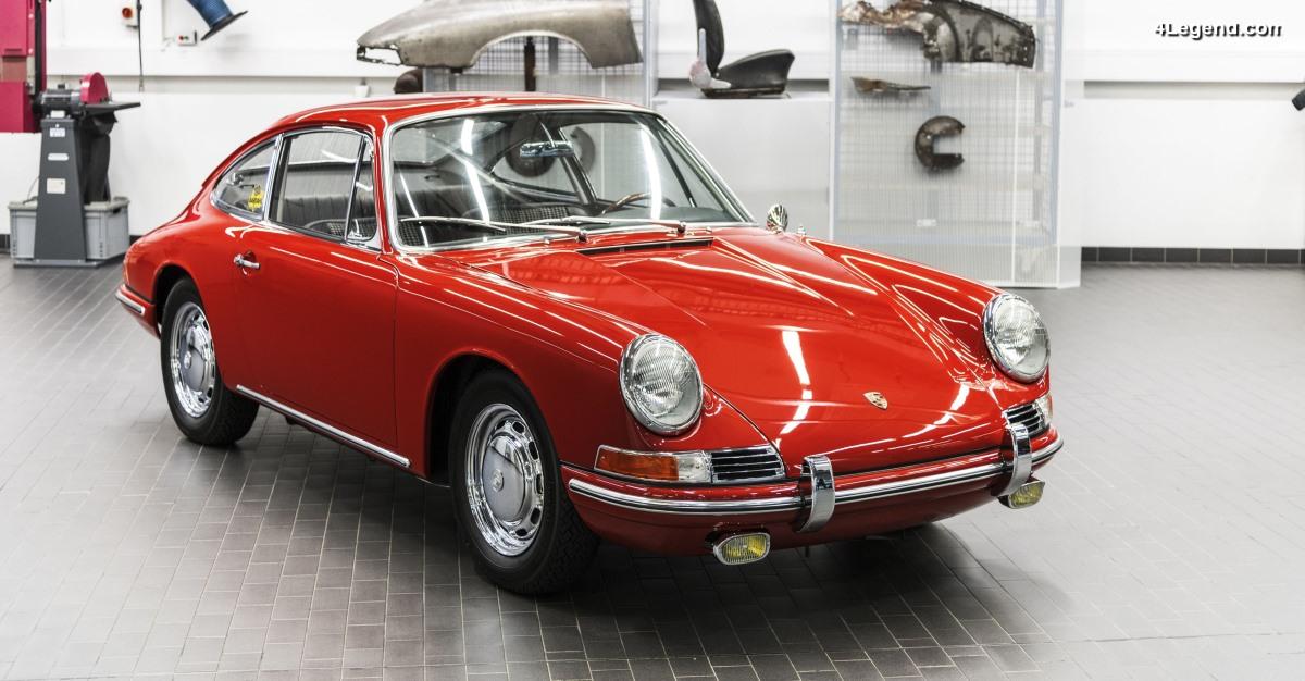 Numéro 57 - La Porsche 911 Type 901 de 1964 châssis 300 057 entièrement restaurée