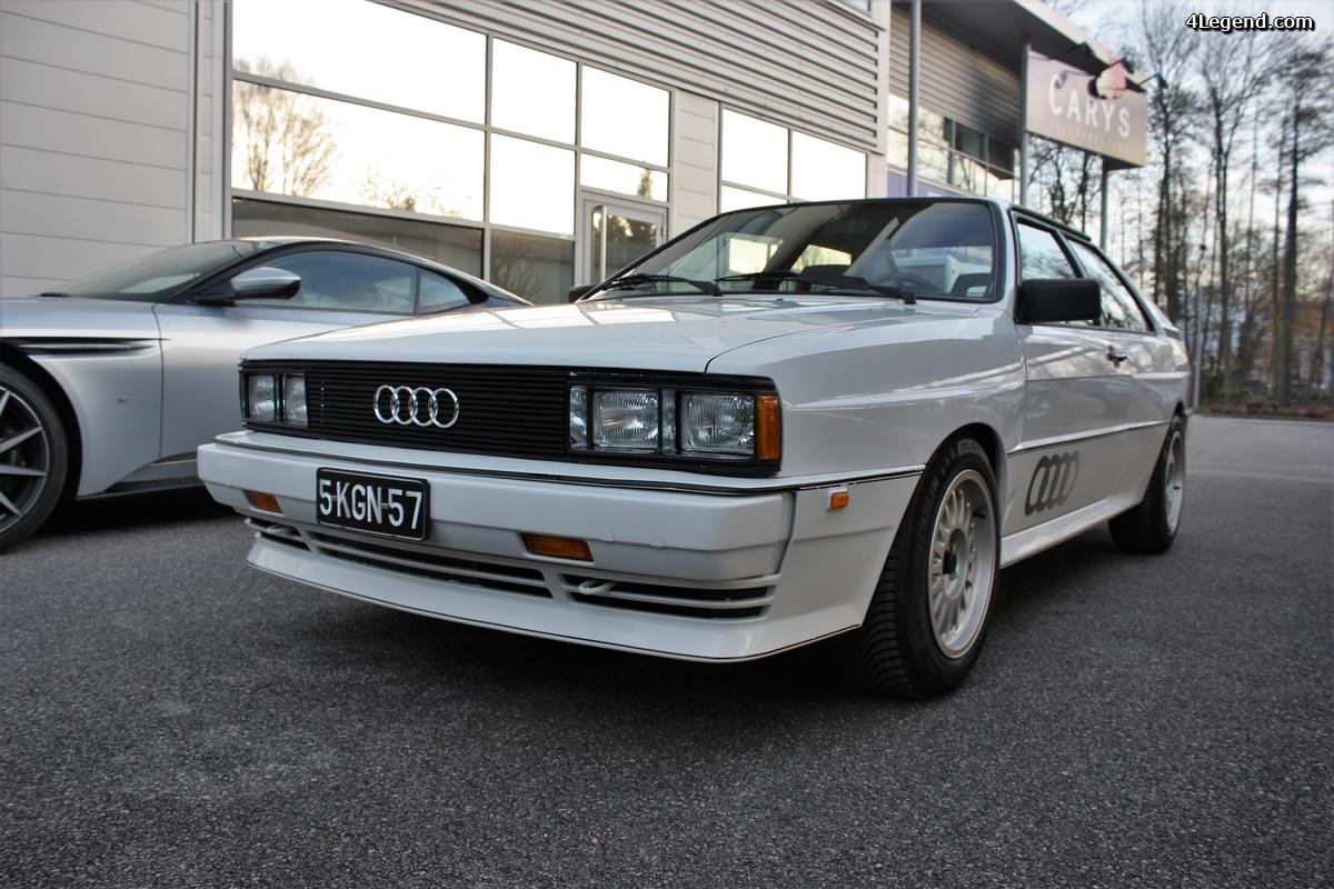 Audi UR quattro type WX quasiment neuf avec seulement 17429 miles.