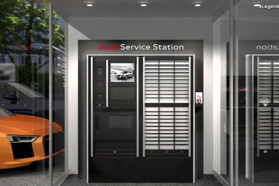Audi Service Station – Une station d'entretien Audi 24h/24 offrant un nouveau niveau de service à ses clients