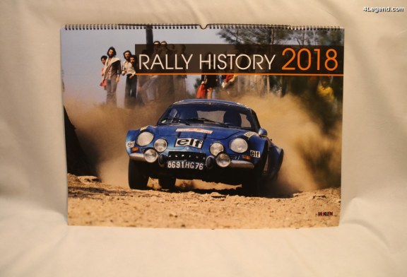 Calendrier Rally History 2018 de McKlein Photography