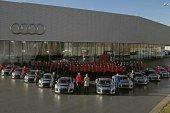 Livraison des nouvelles Audi R8 LMS GT4 aux premiers clients