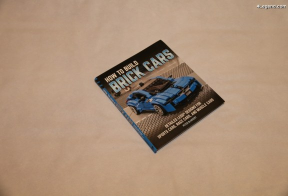 Livre «How to Build Brick Cars – Detailed LEGO Designs for Sports Cars, Race Cars, and Muscle Cars» de Peter Blackert