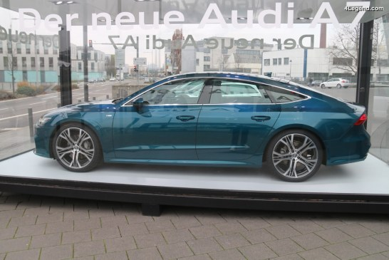 Ouverture des commandes de la nouvelle Audi A7 Sportback