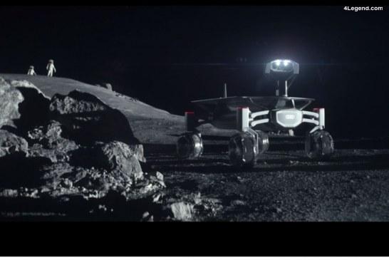 Audi célèbre les missions lunaires d'Apollo avec une publicité spéciale