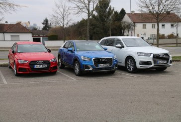 Nouveau record de ventes pour Audi en novembre 2017