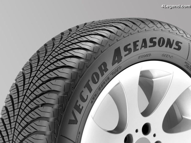 le pneu goodyear vector 4seasons gen 2 homologu pour l audi q2. Black Bedroom Furniture Sets. Home Design Ideas