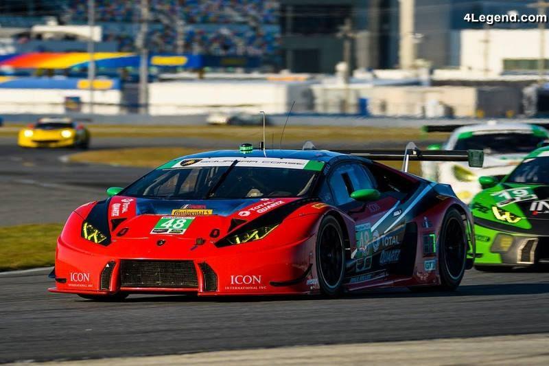 24h Daytona 2018 Belle Victoire De Lamborghini Et Une