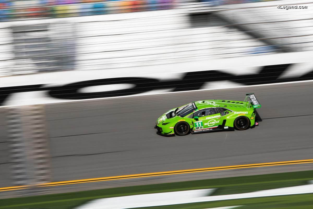 24H Daytona 2018 - Belle victoire de Lamborghini et une 3ème place
