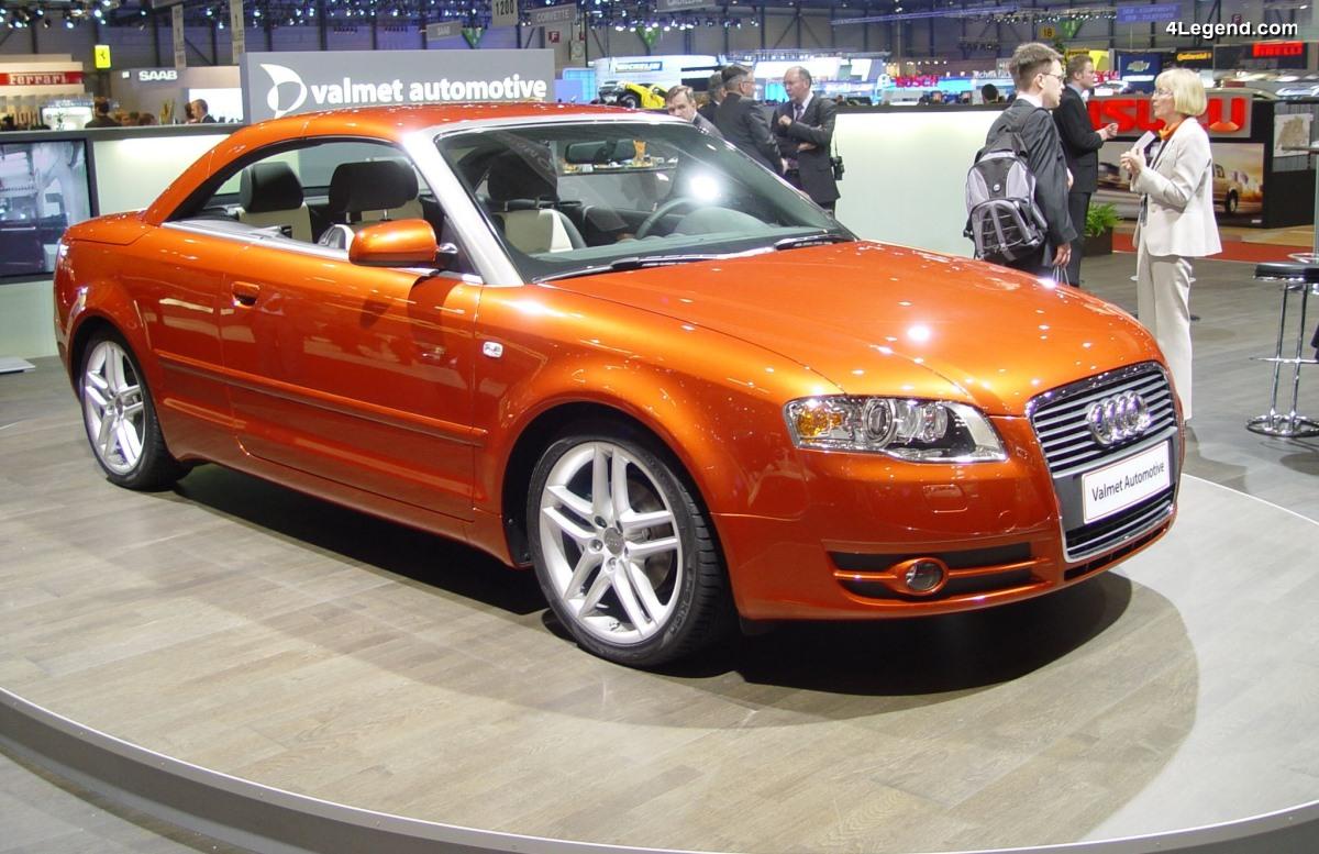 Audi A4 Coupé Cabrio Concept de 2006 par Valmet Automotive - Le retour
