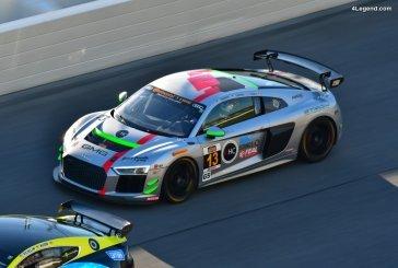 Première participation de l'Audi R8 LMS GT4 aux 24 Heures de Daytona 2018
