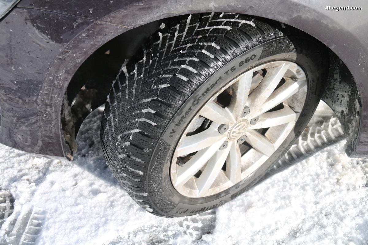 Essais sur près de 20 000 km du pneu hiver Continental WinterContact TS 860 - Très efficace et efficient