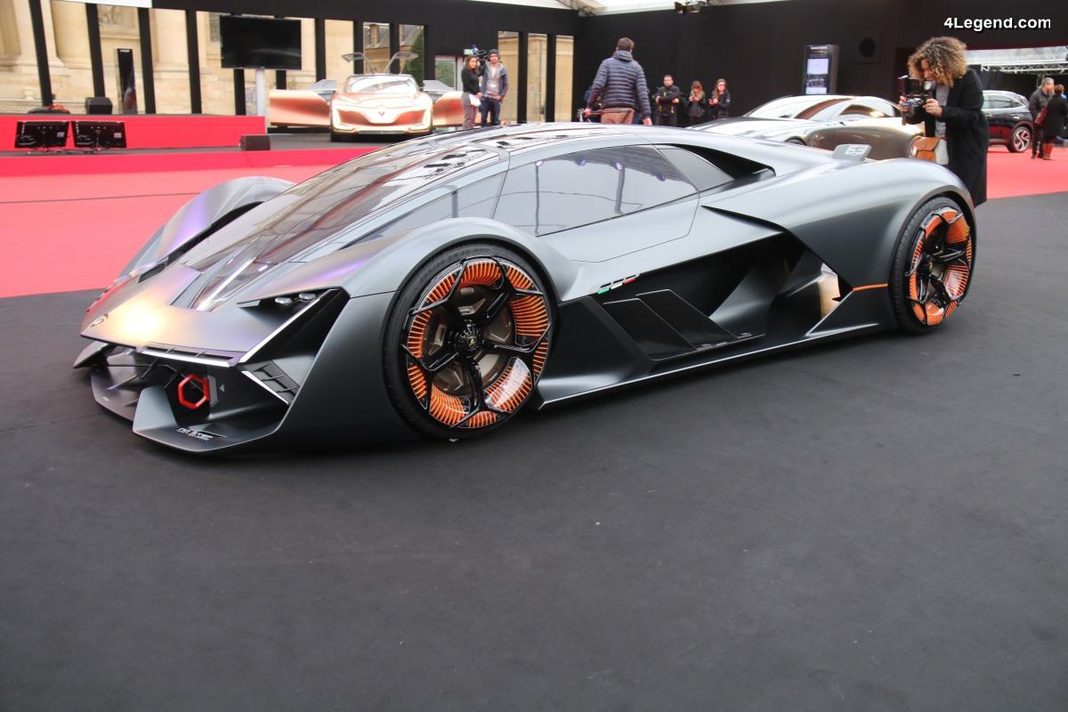 Lamborghini Terzo Millennio à l'Exposition des concept cars 2018 à Paris