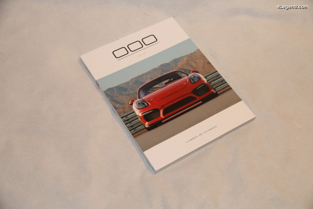 000 Magazine - Un nouveau magazine premium Porsche en édition limitée