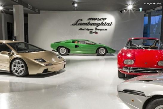 Un record de visites au musée Lamborghini : 100 000 visiteurs