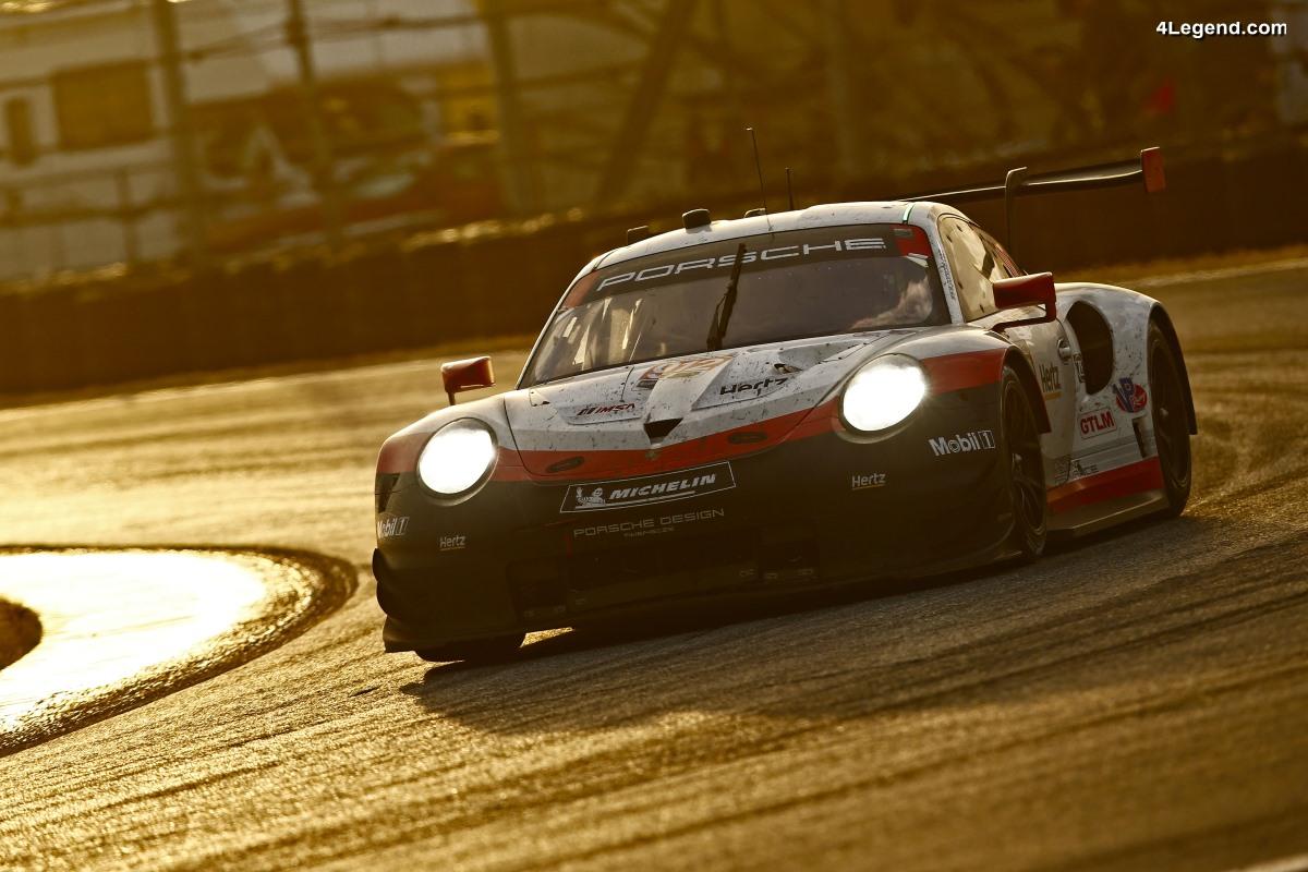 24H Daytona 2018 - Une décevante sixième place pour la Porsche 911 RSR
