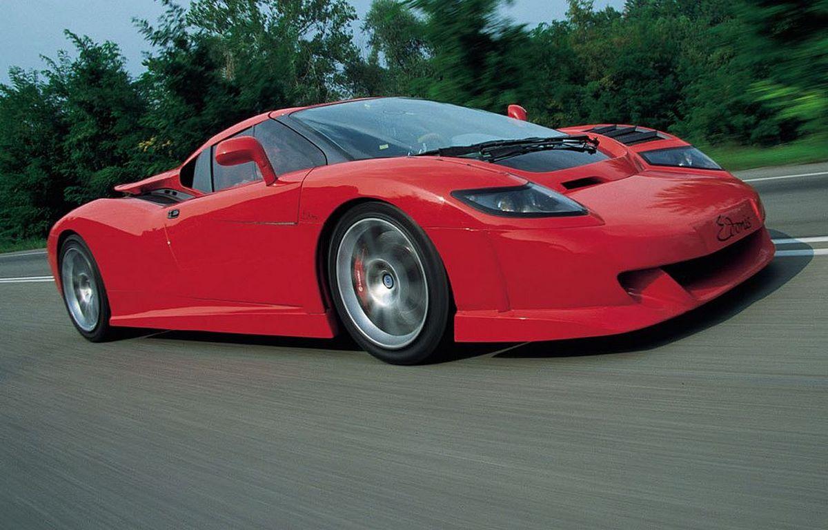 Edonis SP-110 Fenice - La renaissance d'une supercar utilisant le châssis et le moteur V12 de la Bugatti EB110