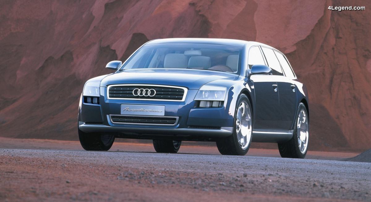 Audi Avantissimo de 2001 - Le dynamisme et le luxe sous une nouvelle forme
