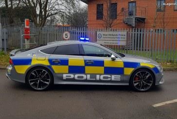 Une Audi RS 7 Sportback de Police au Royaume-Uni