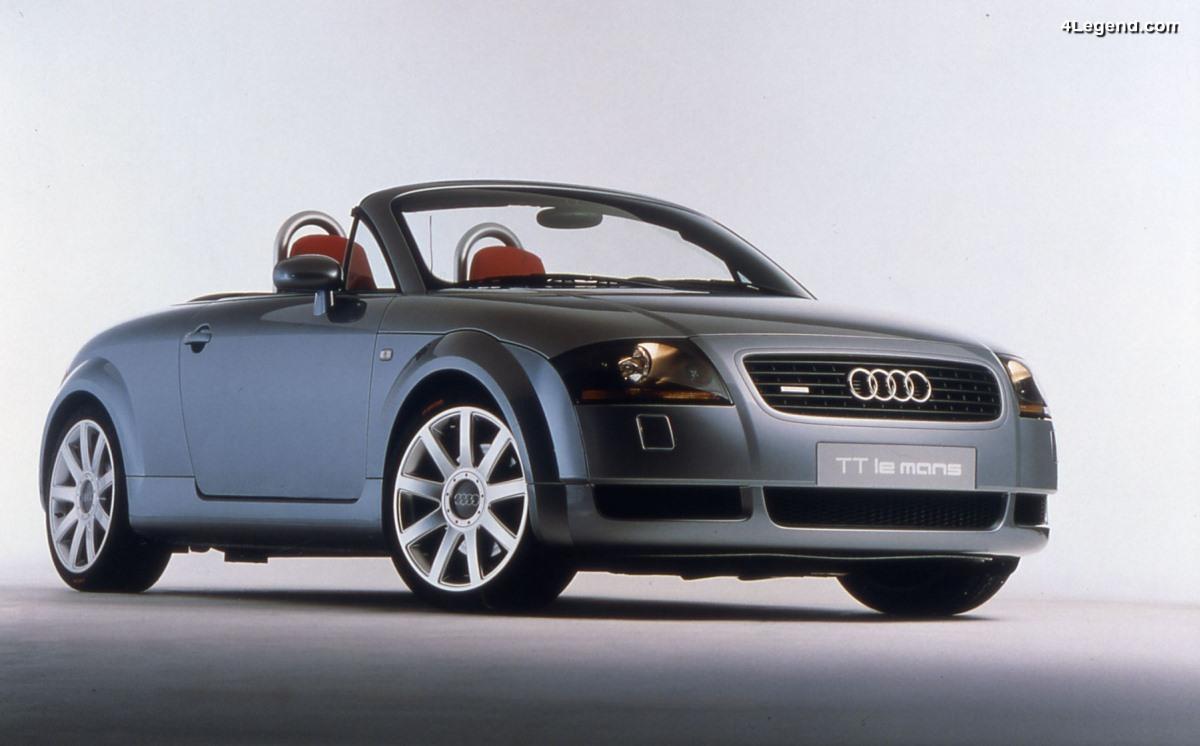 Audi TT Le Mans - Une série très exclusive de 20 exemplaires