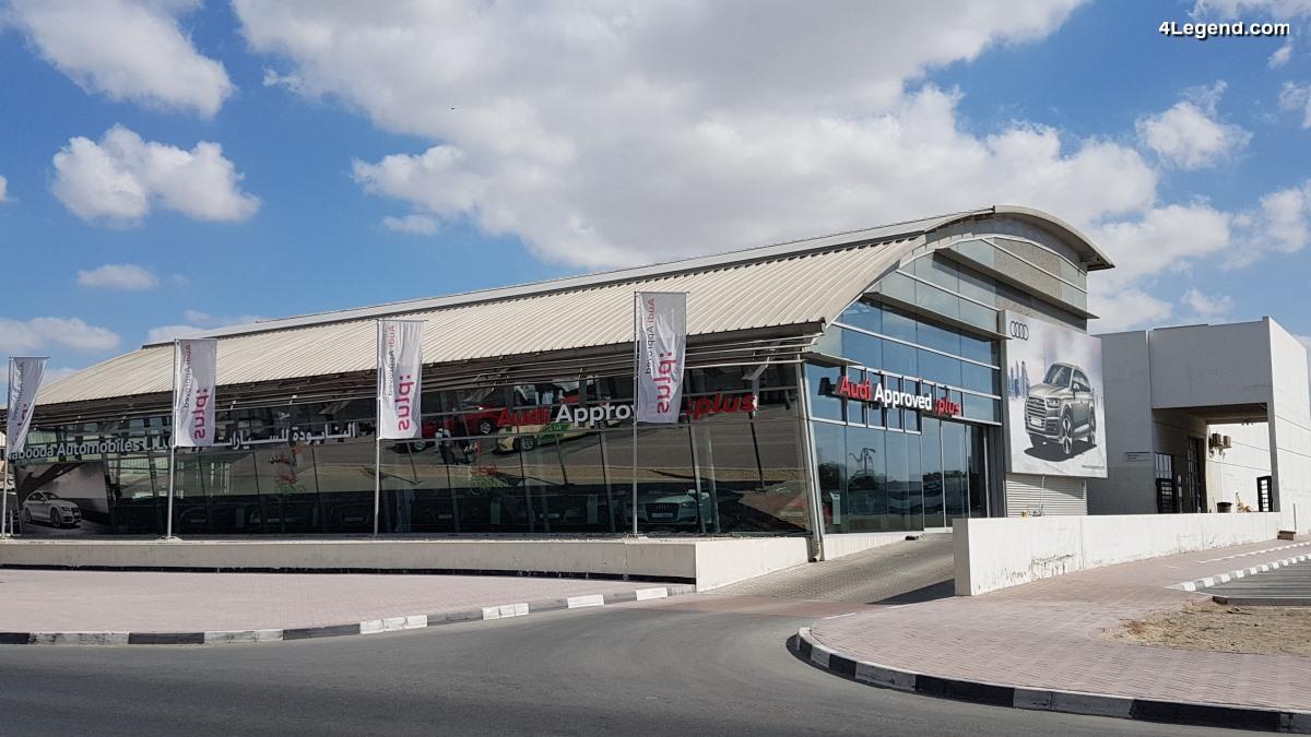 Concession Audi Al Nabooda Automobiles à Dubaï - Un spécialiste des Audi d'occasion
