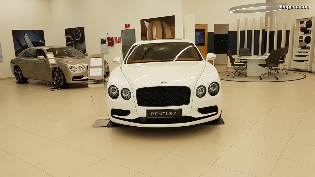 Concession Bentley à Dubaï - A l'image de la marque