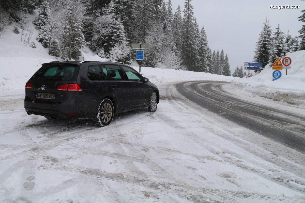 Essais de 3 équipements hivernaux - Pneus hiver Continental TS 860, sur-pneus Musher, chaînes neige Michelin Easy Grip Evolution