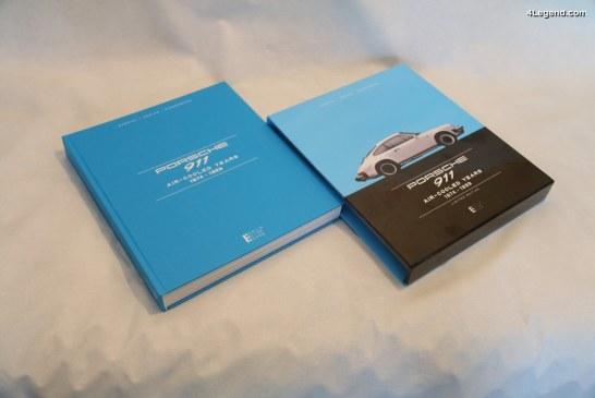 """Livre """"Porsche 911 – Air-cooled years 1974 – 1989"""" de Berlin Motor Books"""